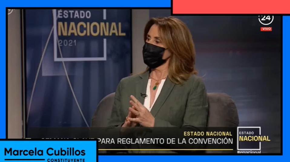 """Les comparto parte de mi participación en """"Estado Nacional"""" de TVN"""
